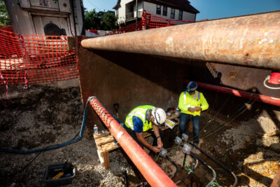 New tech solutions applied to old water pipes