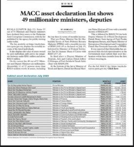 MACC-Millionnaires-Ministers